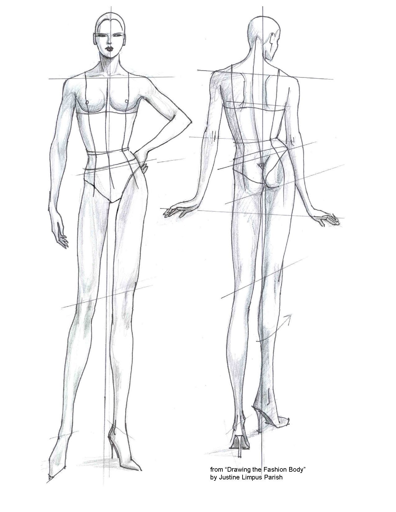 fashion design croquis