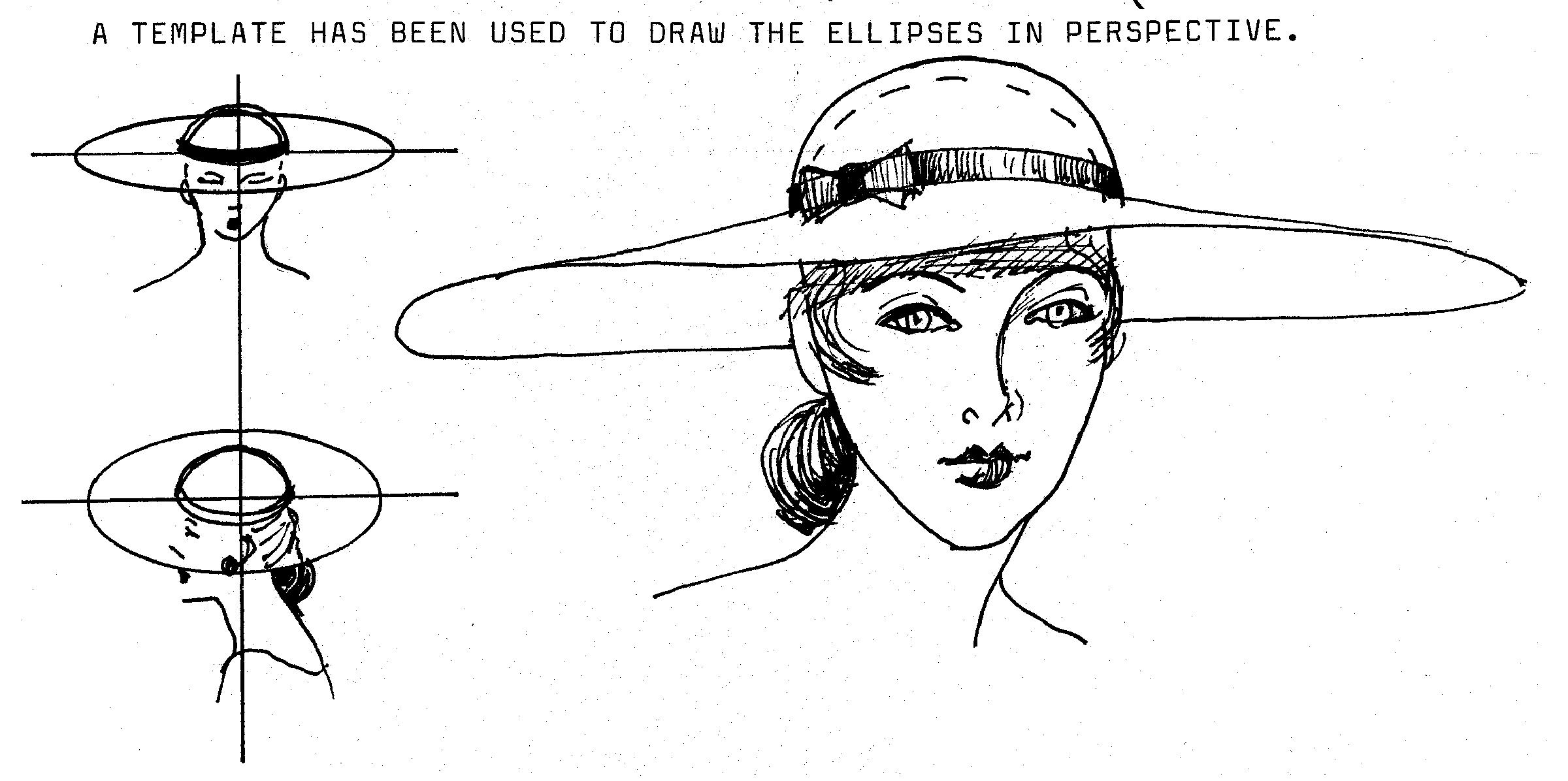 Drawing Fashion Hats Justine Limpus Parish S Blog