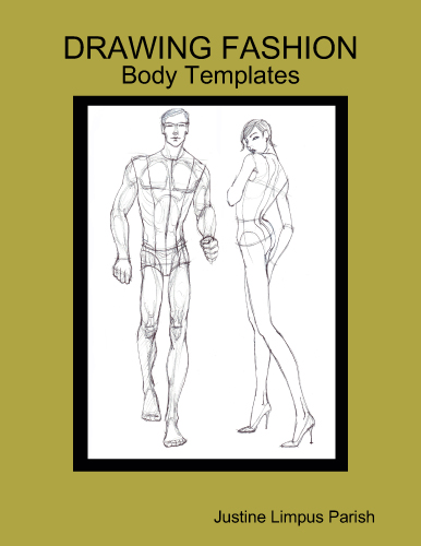 Lulu Book Cover Template : Drawing fashion body templates now on lulu justine