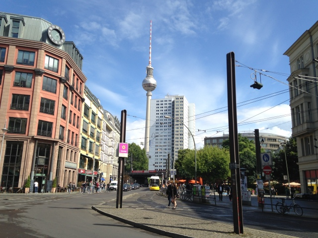 near Hackescher Markt station