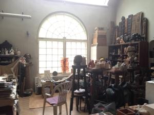 Gabor's studio